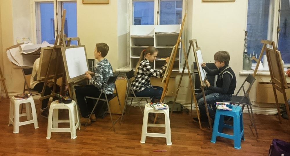 подготовительный класс, живопись